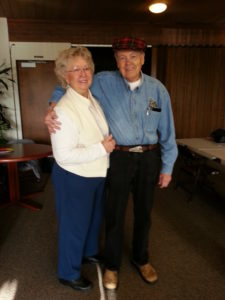 Photo of Ron and Vicky McCarty in January, 2014