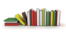 Row of Books for Book Review image.
